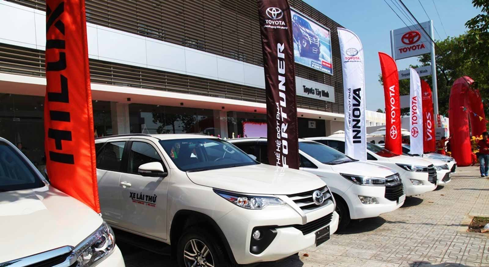 Bảng Giá Xe Toyota 2020 Tại Toyota Tây Ninh
